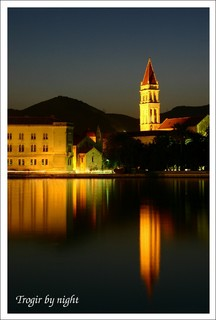 Trogir by night
